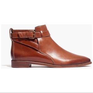 Madewell Hollis Strap Boots